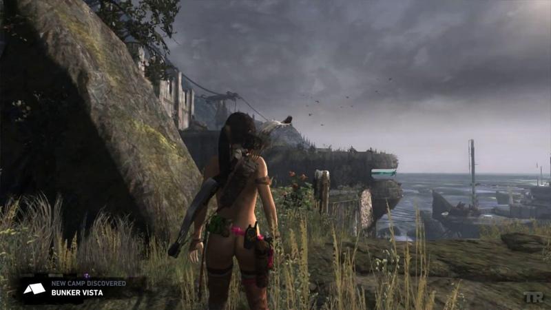 Tomb Raider 2013 Nude mod by ATL BLUE BLOOD v 3 9 Aviatrix2 SNAKE