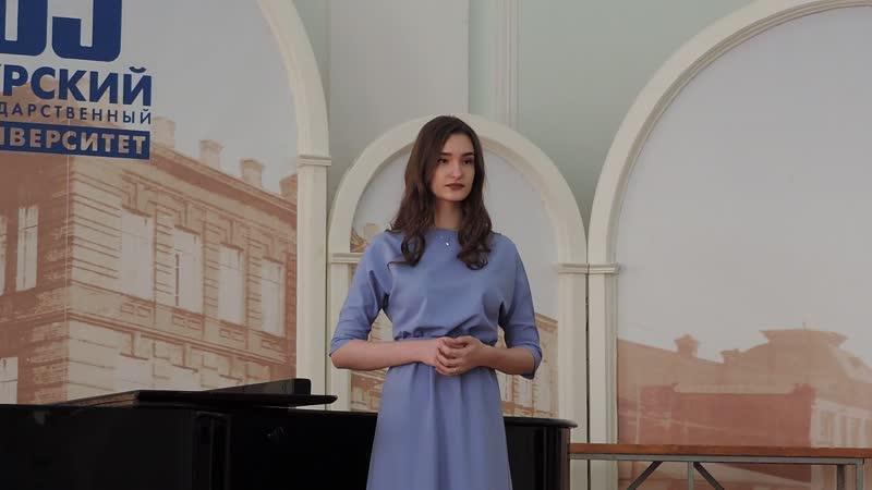 Рыжкова Анастасия Вторая ария Наташи из оперетты Беспокойное счастье