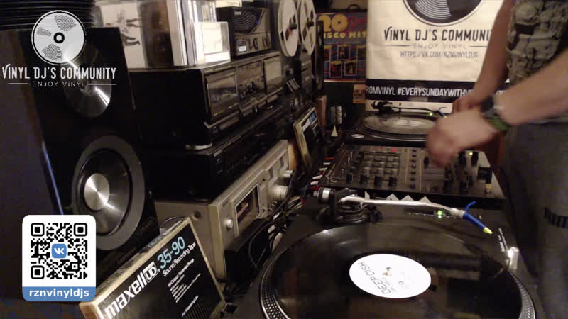 DJ VIRUS VINYL HOME LIVE MIX 06.10.2019
