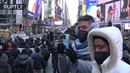 No Trump, no KKK, no fascist USA Anti-fascist demonstrators protest against far-right in NYC