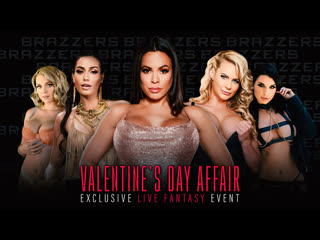 Brazzers LIVE: Valentine's Day Affair [Brazzers] Teen Petite MILF Big Tits Ass Orgy Anal DP Group Sex