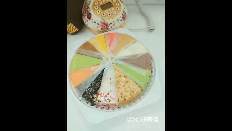 八提拉米苏蛋糕俄罗斯风味食品8寸