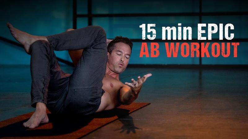 15 min EPIC AB WORKOUT - CORE - Level Up 108 Yoga Program