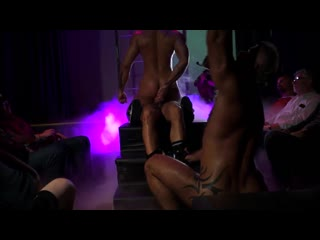 NOB HILL, SCENE 4 - ADAM KILLIAN, JESSIE COLTER, MAX DURO gay porn