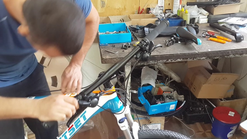 Сборка велосипеда Jetset