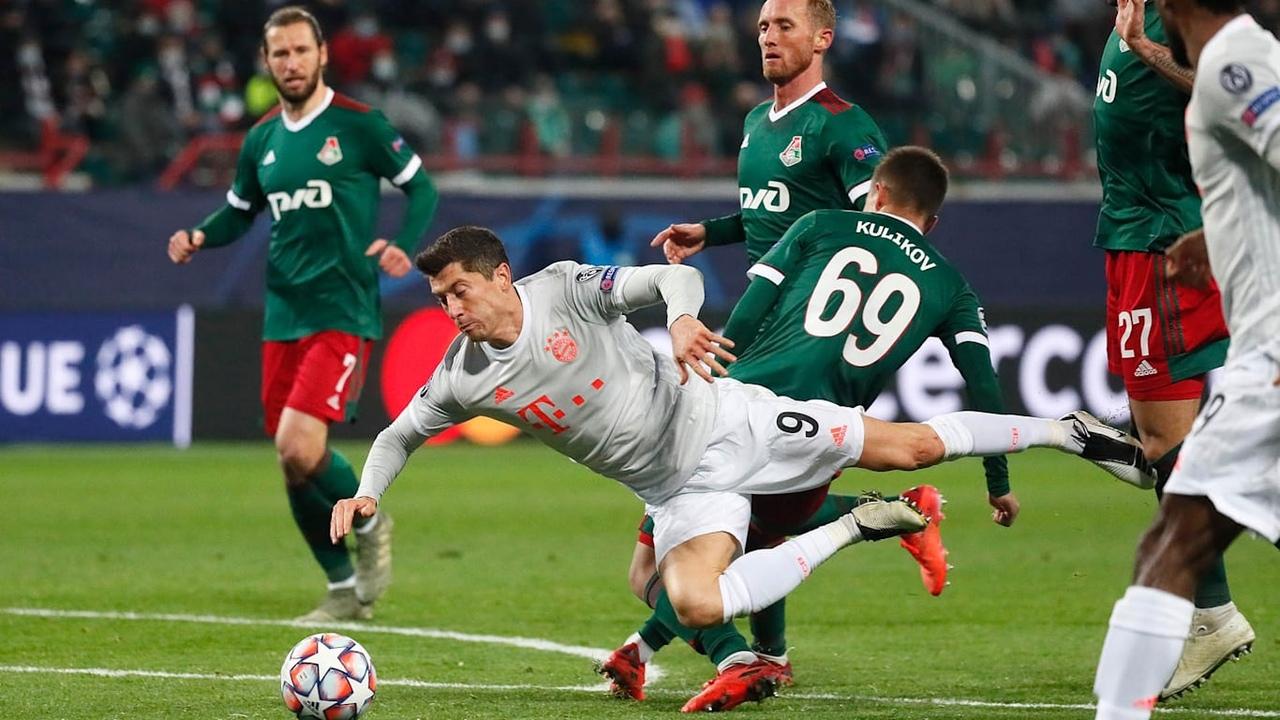 Локомотив - Бавария, 1:2. Роберт Левандовски