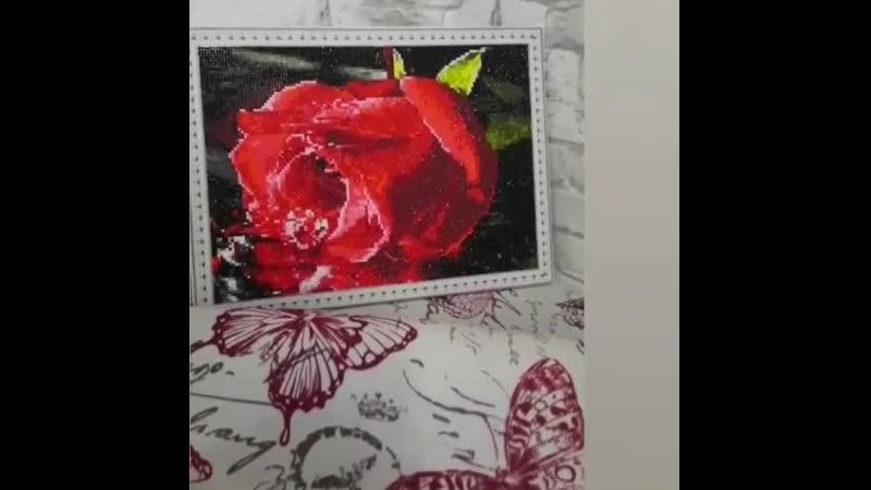 Алмазная роза от Михаевич Полины