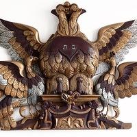 Лекция. Державный орёл на еврейских памятниках.