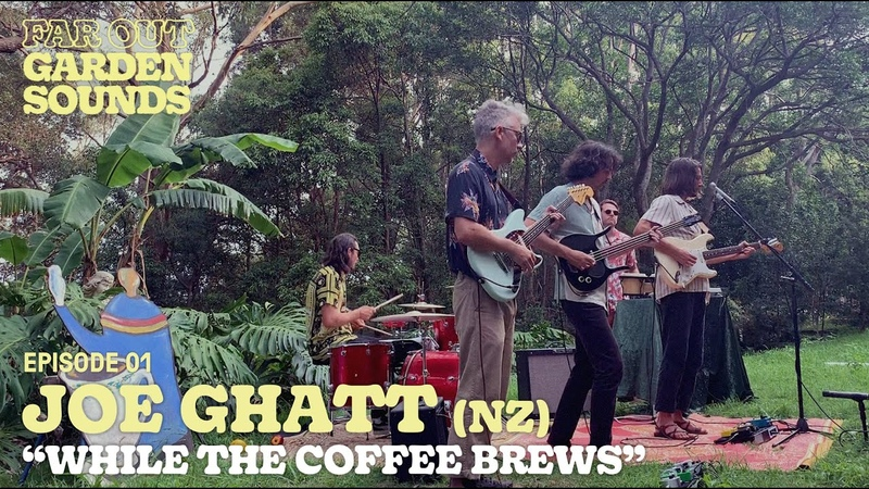 JOE GHATT While The Coffee Brews Far Out Garden Sounds EP01
