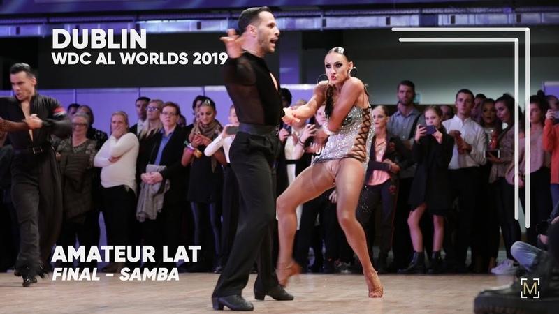 Salvatore Sinardi - Viktoria Kharchenko, ITA   2019 Dublin   World Amateur LAT - F S