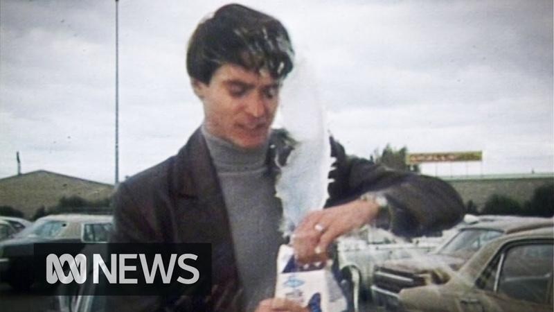 People struggle to open milk cartons in 1976 RetroFocus