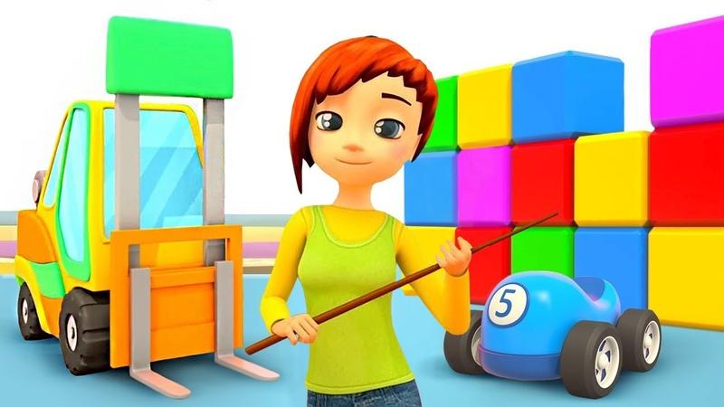 L'école des camions №8 La chargeuse Dessin animé pour enfants