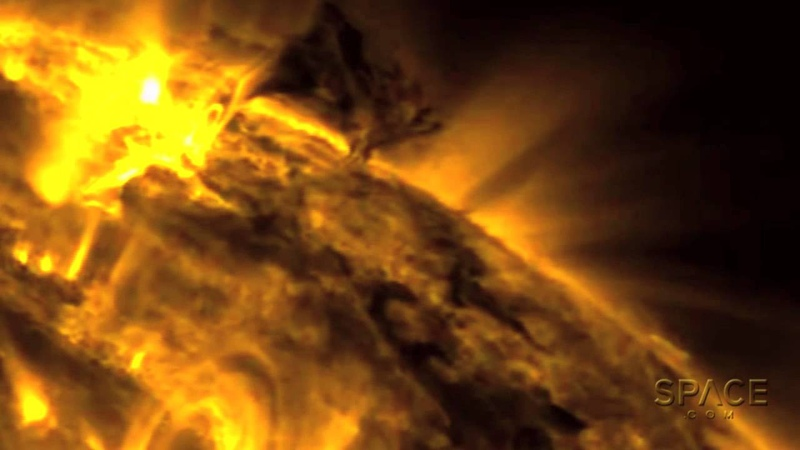 'Twisters' On The Sun Spotted By Spacecraft Video
