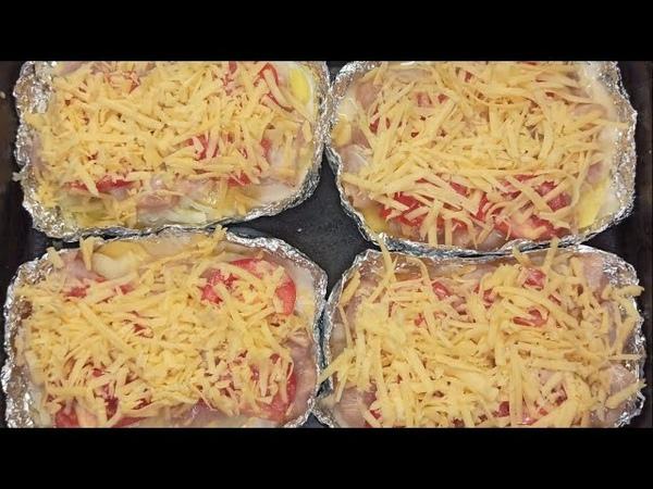 Хоть на праздник, хоть на каждый день! Куриное филеСюрприз с картошкой и сыром