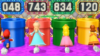 Mario party 10 all minigames coin challenge difficulty very hard