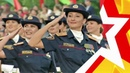 ЖЕНСКИЕ ВОЙСКА. Парад в Минске. Кто круче Армия или Милиция