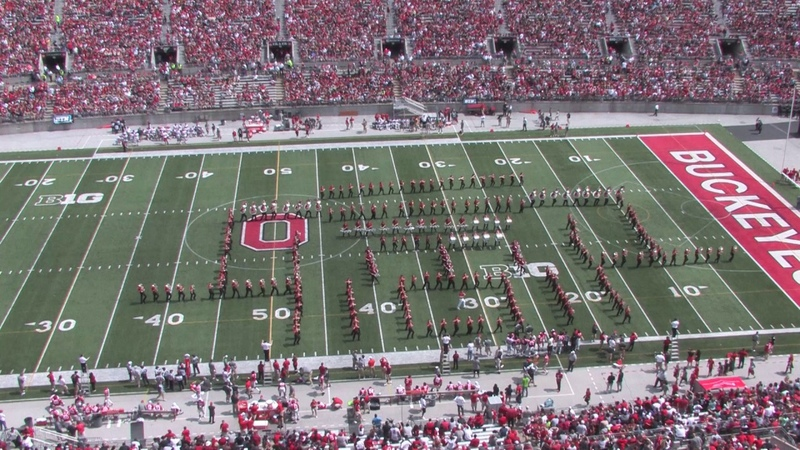 Halftime Elvis Ohio State Spring Game Apr 15 2017