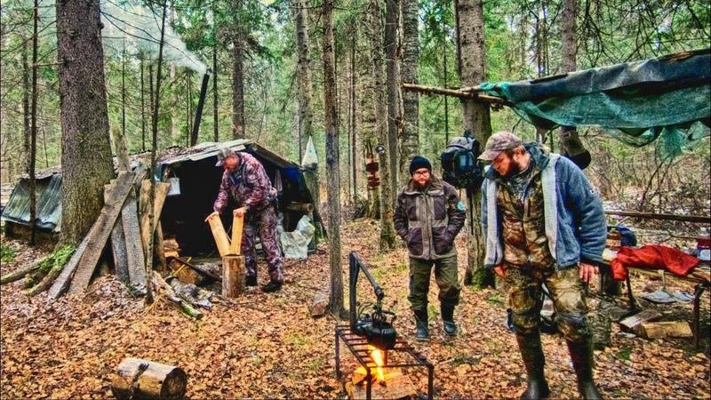 Лесная ИЗБА охотников Егерь с нами Еда для лосей и зайца