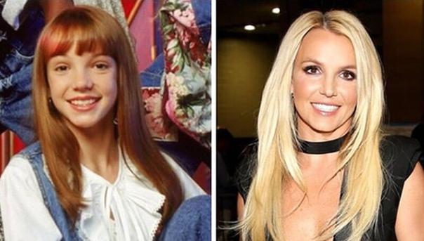 Бритни Спирс раньше и сейчас!
