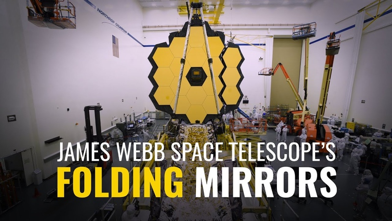 The James Webb Space Telescope's Folding Mirrors