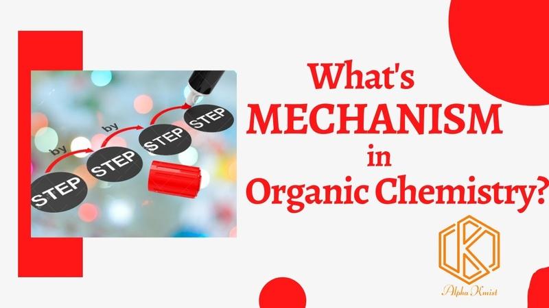 Mechanism Organic Chemistry Use of Curved Arrow in Mechanism NEET FSc SSc English Urdu Hindi