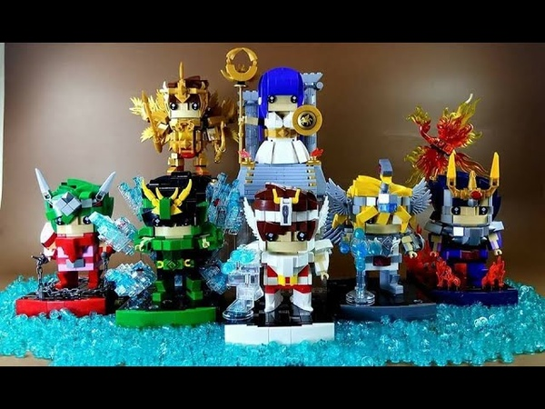 Lego MOC Brickhead Saint Seiya