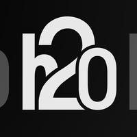 Логотип H2O Art Hall / Еда, идеи и музыка