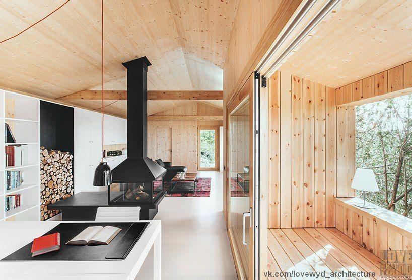 энергосберегающий дом на склоне в Испании недалеко от Барселоны / dom arquitectura