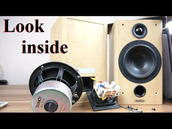 Tannoy Fusion 1 Mercury F1 speakers look inside what's inside