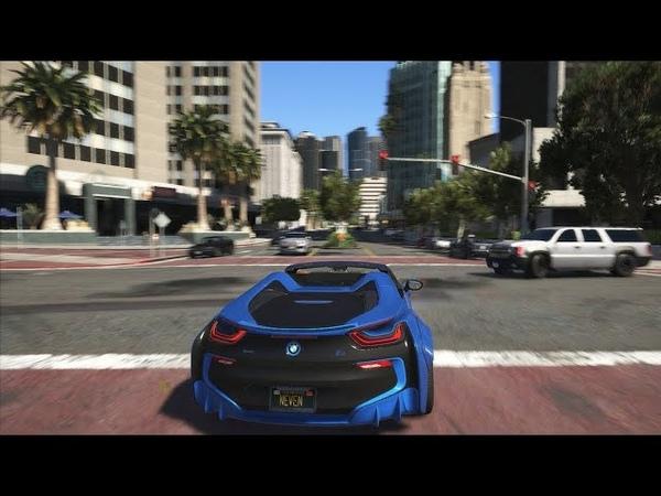 NaturalVision Evolved | GTA 5 Графика Как в Реальной Жизни! Геймплей