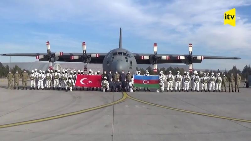 Qarsda Türkiyə və Azərbaycan xüsusi təyinatlıları təlimlərə başladı