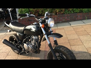 Honda Ape 50 in Black Good Condition - For Sale At Apexmoto Inc.
