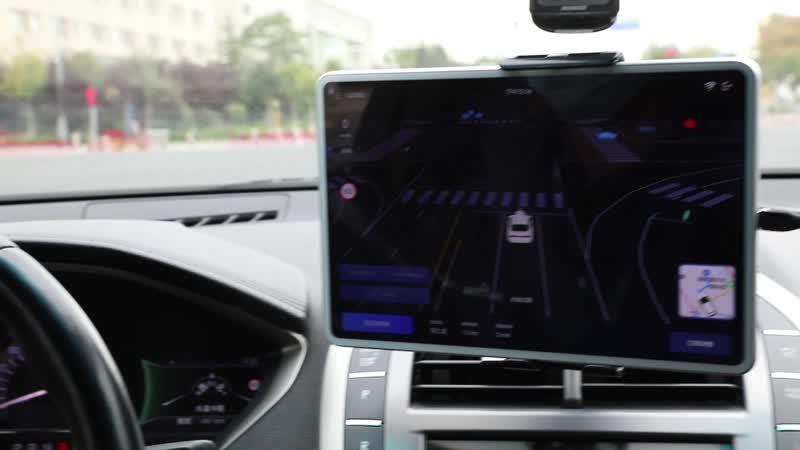 Такси автономного вождения в Пекине