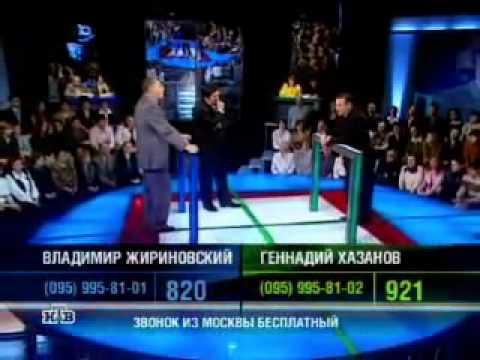 Гениальный ответ Хазанова на глупости.mp4