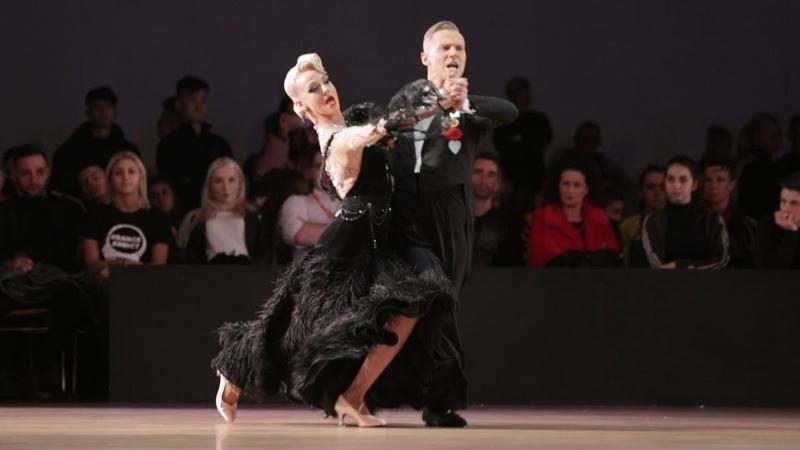 Evaldas Sodeika - Ieva Zukauskaite, LTU   Dancesport Cup 2019 - WDSF WO STD - F T