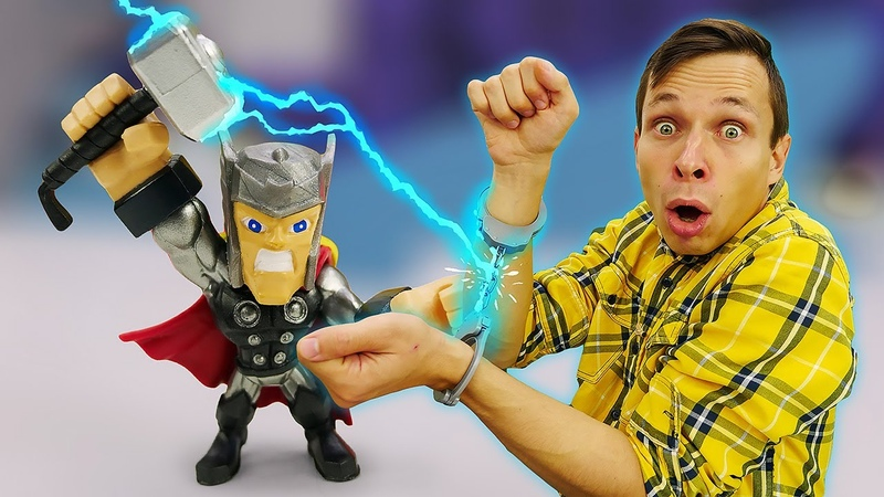 Новые видео игры Тор спасает Мастера Фёдора Супергерои Мстители в онлайн видео для мальчиков