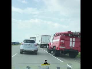 На трассе Бийск - Барнаул перед Буланихой произошло жесткое ДТП (Инцидент Барнаул)