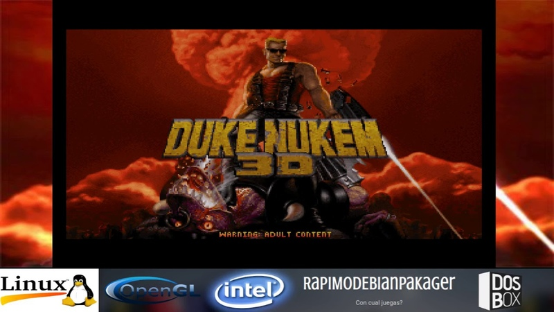 DUKE NUKEM ATOMIC EDITION HQ3X DOSBOX LINUX ¡MEJOR ALTERNATIVA PARA PC DE BAJO RECURSOS