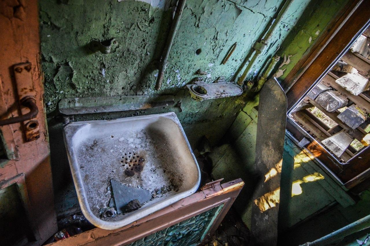 Кладбище поездов Калининграда