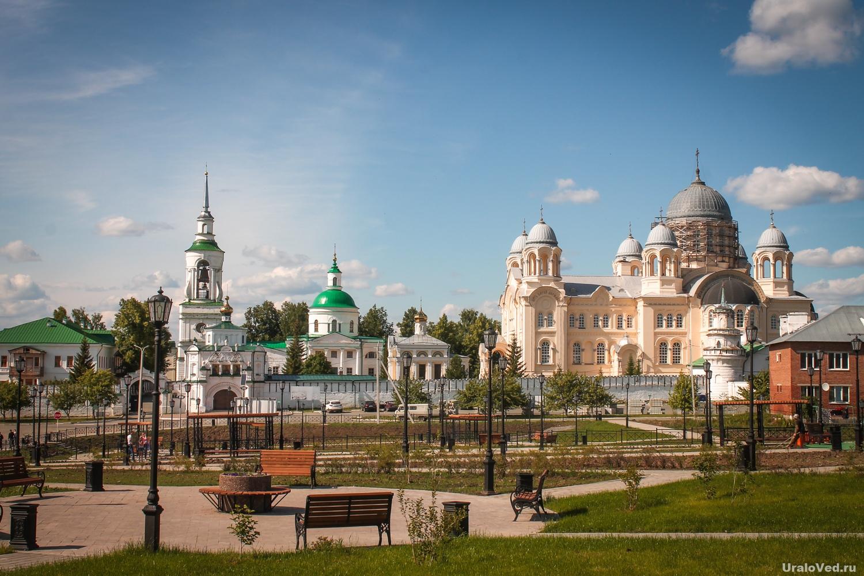 Городская площадь в Верхотурье