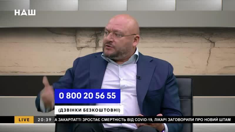 Добкін про бійку та мовний скандал у Харківській міській раді НАШ 25 02 21