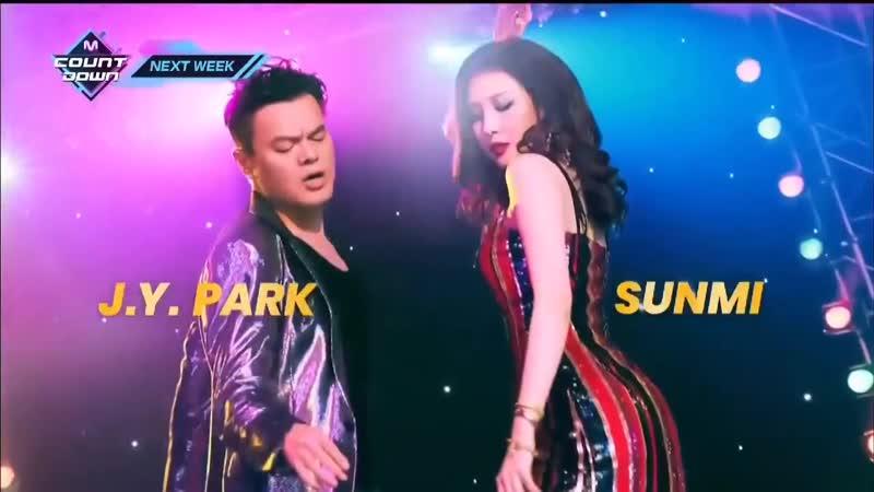 J.Y. Park When We Disco duet with SUNMI @ M! Countdown Next Week