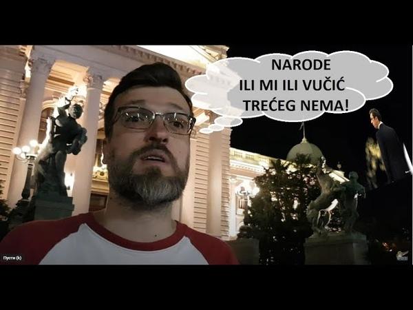 Skupština Nogo poslao poruku opoziciji Moramo da se ujedinimo Vučić će da uništi Srbiju