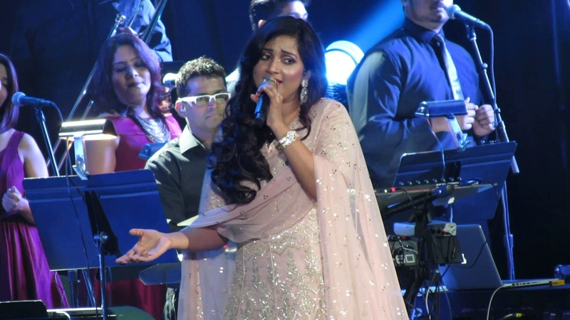 Barso Re Shreya Ghoshal Live (Guru)