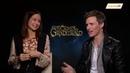 Eddie Redmayne and Katherine Waterston from Fantastic Beasts: The Crimes of Grindelwald