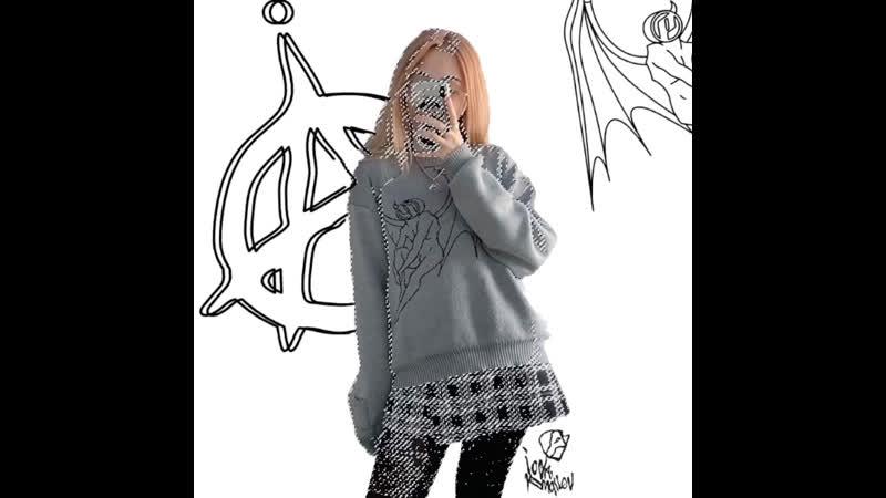 """Свитер P"""" sweater 4 my loneliness 💭💘"""