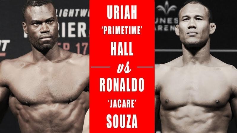 EA Sports UFC 3 Роналду Соуза Юрая Холл Ronaldo Souza Uriah Hall