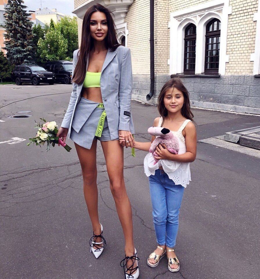 Фигура Оксаны Самойловой без всяких фильтров  Красотка