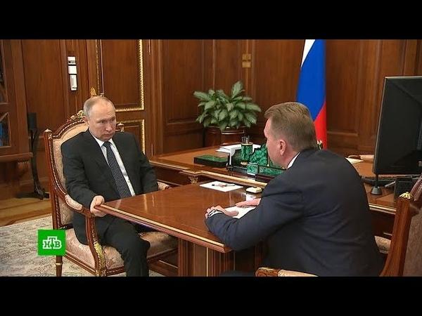 Путин обсудил в Шуваловым работу госкорпорации ВЭБ РФ