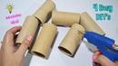 4 Ways To ReUse Recycle Empty Tissue Roll| Best Out of Waste